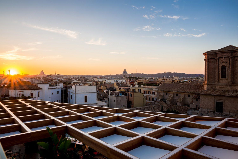 Madeiterraneo Terrace Restaurant In Rome
